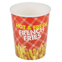 Choice 32 oz. French Fry Cup - 50/Pack