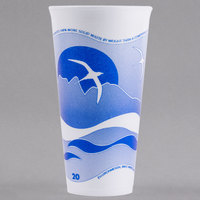 Dart 20LX16H 20 oz. Horizon Foam Cup - 500/Case