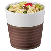 Cal-Mil 3471-5 32 oz. Two-Tone Melamine Stoneware Small Bowl