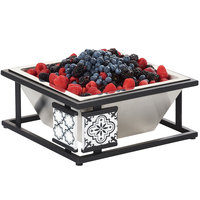Cal-Mil 4023-85 Granada Cold Concept Base with Melamine Tile - 12 inch x 12 inch x 5 1/4 inch