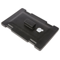 Carlisle LD235LG03 Cateraide Black Lid Assembly for LD250N03, LD350N03, and LD500N03