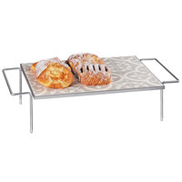 Cal-Mil 436-6-86 Granada Serving Tray with Removable Melamine Tile - 24 inch x 13 3/4 inch x 6 inch