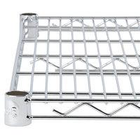 Regency 24 inch x 48 inch NSF Chrome Wire Shelf