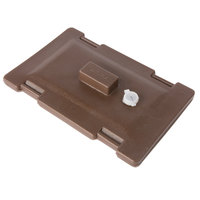 Carlisle LD235LG01 Cateraide Brown Lid Assembly for LD250N01, LD350N01, and LD500N01