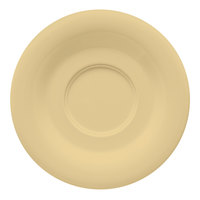 GET SU-2-SQ Squash Diamond Harvest 5 1/2 inch Saucer - 48/Case