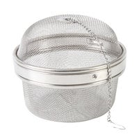 4 3/8 inch Stainless Steel Tea Ball Infuser with Chain
