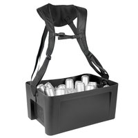 IRP 3301079 22 5/8 inch x 14 3/4 inch x 10 inch Black Hawker Elite with Harness and Graphic