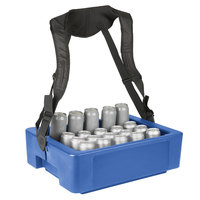 IRP 3301087 23 1/8 inch x 17 7/8 inch x 7 3/8 inch Blue Multi-Hawker Elite with Harness and Graphic