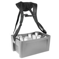 IRP 3301084 22 5/8 inch x 14 3/4 inch x 10 inch Gray Hawker Elite with Harness and Graphic