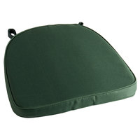 Lancaster Table & Seating Hunter Green Chiavari Chair Cushion - 2 inch Thick