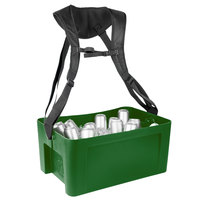 IRP 3301082 22 5/8 inch x 14 3/4 inch x 10 inch Green Hawker Elite with Harness and Graphic