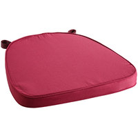 Lancaster Table & Seating Wine Red Chiavari Chair Cushion - 2 inch Thick