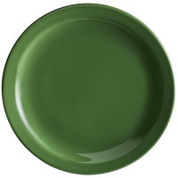 Syracuse China 903046910 Cantina 9 inch Sage Uncarved Porcelain Plate - 12/Case