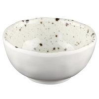 Elite Global Solutions D31R-CC Macchiato 5 oz. Chocolate Chip Round Melamine Bowl - 6/Case