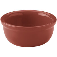 Hall China 30413334 Paprika 8 oz. Colorations Baking Bowl - 24/Case