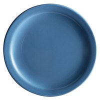 Syracuse China 903043910 Cantina 9 inch Blueberry Uncarved Porcelain Plate - 12/Case