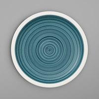 Villeroy & Boch 16-4068-1460 Artesano Ocean 5 inch Pacific Green Porcelain Saucer - 6/Case