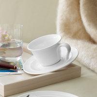 Villeroy & Boch 16-4036-1270 Neufchatel Care 7.5 oz. White Porcelain Cup - 6/Case