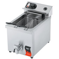 Vollrath 40709 15 lb. Commercial Countertop Deep Fryer - 208-240V
