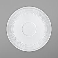 Villeroy & Boch 16-4008-1430 Stella Vogue 4 3/4 inch White Bone Porcelain Saucer - 6/Case