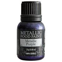 Renshaw Rainbow Dust 0.88 oz. Purple Metallic Food Paint