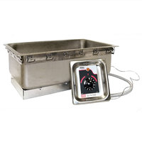 APW Wyott TM-90D UL Uninsulated Drop In Food Warmer with Drain - 120V