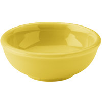 Hall China 30178320 Sunflower 5 oz. China Salsa Bowl - 36/Case