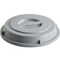 Schonwald 9441270-10113 Donna Senior 10 1/4 inch Gray PBT Plastic Round Plate Cover - 6/Case