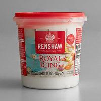 Renshaw 14 oz. White Royal Icing - 4/Case