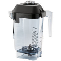 Vitamix 15981 Advance 32 oz. Clear Copolyester Deluxe Blender Jar with Lid and Wet Blade Assembly for Vitamix Blenders