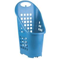 Garvey BSKT-55008 19 inch x 18 inch x 34 inch Light Blue Market Shopping Flexi-Cart - 5/Pack