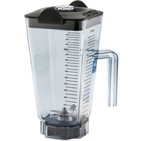 Vitamix 15504 48 oz. Clear Copolyester Blender Jar with Lid and Wet Blade Assembly for Vitamix Blenders