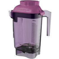 Vitamix 58987 Advance 32 oz. Purple Deluxe Copolyester Blender Jar with Blade Assembly and Lid for Vitamix Blenders