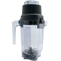 Vitamix 15894 64 oz. Clear Copolyester Blender Jar with Lid and Wet Blade Assembly for XL Vitamix Blenders