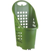 Garvey BSKT-55002 19 inch x 18 inch x 34 inch Green Market Shopping Flexi-Cart - 5/Pack