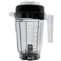 Vitamix 15652 32 oz. Clear Copolyester Blender Jar with Lid and Wet Blade Assembly for Vitamix Blenders