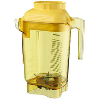Vitamix 58985 Advance 32 oz. Yellow Deluxe Copolyester Blender Jar with Blade Assembly and Lid for Vitamix Blenders