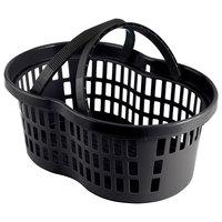 Garvey BSKT-57006 20 inch x 13 3/4 inch x 10 3/4 inch Black Market Shopping Flexi-Basket - 12/Pack