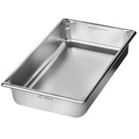 Vollrath 5IPF40 Super Pan V® Full-Size 4 inch Deep Anti-Jam Stainless Steel Induction Hotel Pan - 22 Gauge