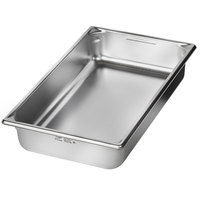 Vollrath 5IPF40 Super Pan V® Full-Size Anti-Jam Stainless Steel Induction Hotel Pan - 4 inch Deep