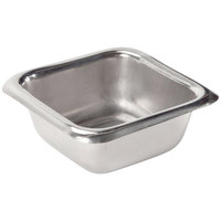American Metalcraft SSC15 1.5 oz. Stainless Steel Square Sauce Cup