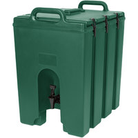 Cambro 1000LCD519 Camtainers® 11.75 Gallon Kentucky Green Insulated Beverage Dispenser