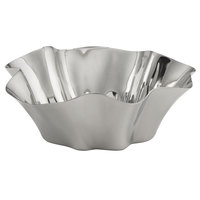 American Metalcraft SMB25 25 oz. Mod Stainless Steel Serving Bowl with Mirrored Finish
