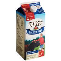 Organic Valley Half Gallon Lactose Free Organic Whole Milk - 6/Case