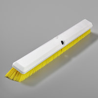 Carlisle 4189104 Sparta Spectrum Omni Sweep 24 inch Push Broom Head with Yellow Unflagged Bristles