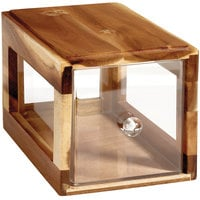 GET Enterprises Urban Renewal BB-SQ-7-UR Urban Rustic 12 1/4 inch x 6 inch x 6 inch Stackable Square Bread Box