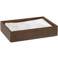 GET Enterprises WB-962WD-GA Urban Renewal 9 inch x 6 inch x 2 inch Gray Ash Rectangular Stackable Wood Display Box