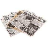 GET Enterprises 4-Tvariety 12 inch x 12 inch Newsprint Liner Variety Pack - 1000/Case