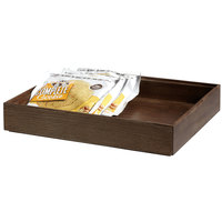 GET Enterprises WB-1292WD-GA Urban Renewal 12 inch x 9 inch x 2 inch Gray Ash Rectangular Stackable Wood Display Box
