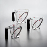OXO 1056988 Good Grips 3-Piece Clear Angled Measuring Cup Set
